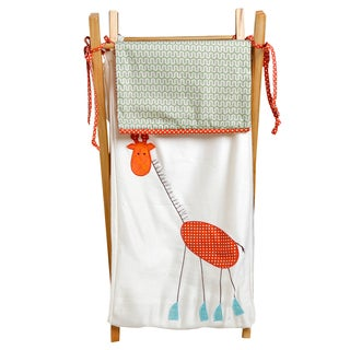 Cotton Tale Scribbles Jungle Embroidered Hamper