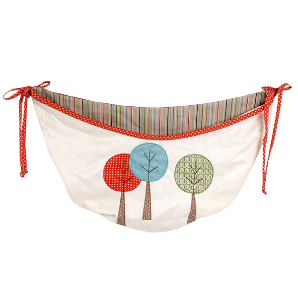 Cotton Tale Scribbles Jungle Embroidered Toy Bag