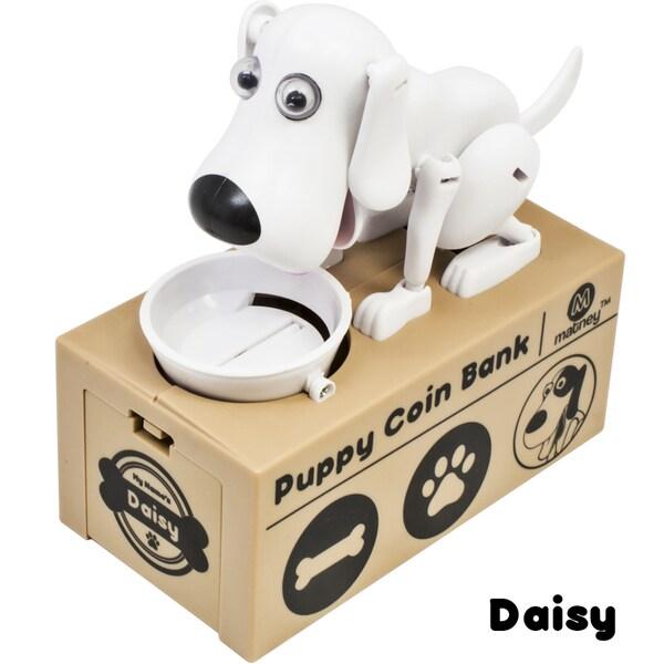 Dog Piggy Bank Robotic Coin Toy Money Box Named Daisy