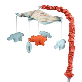 Cotton Tale Scribbles Jungle Musical Mobile