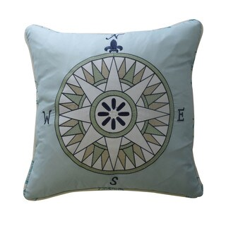 Waverly Kids Buon Viaggio Embroidered Decorative Accessory Pillow