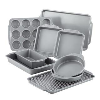 Farberware Nonstick Bakeware 10-Piece Set with Cooling Rack