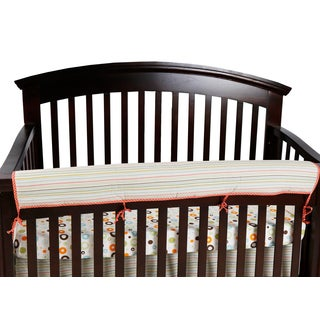 Cotton Tale Scribbles Jungle Stripe Multicolor Front Rail Cover/Guard
