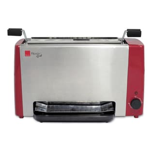 Ronco RG1003RDDRM Ready Grill, Red