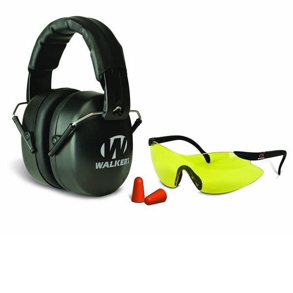 Walkers EXT Folding Range Muff, Glasses, Plug Combo