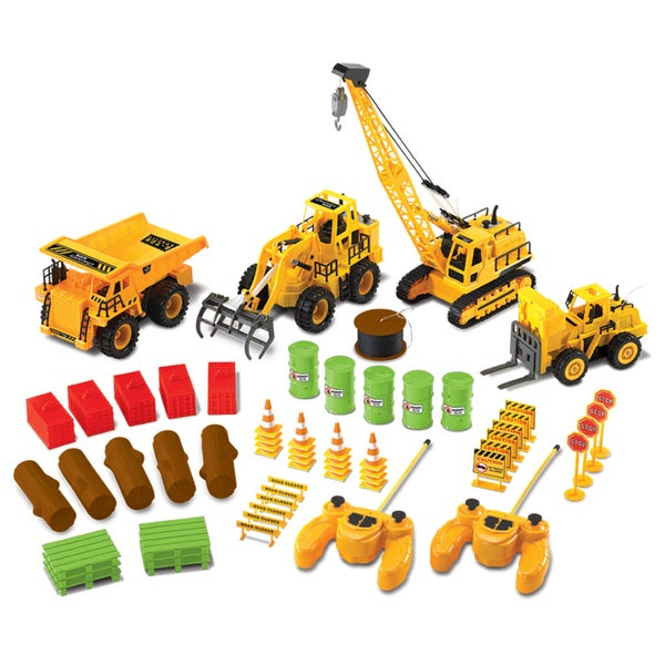 Shop Discovery Kids 61 Piece Remote Control Construction Set Free