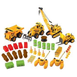 Discovery Kids 61 Piece Remote Control Construction Set
