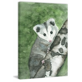 'Curiosity' Painting Print on Wrapped Canvas
