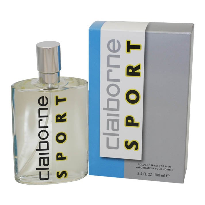 Claiborne Sport Cologne Spray 3.4-ounce for Men (3.1 - 4 Oz.)