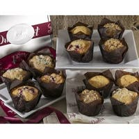 Dulcet Muffin Gift Basket Assorted Fresh and Gourmet.
