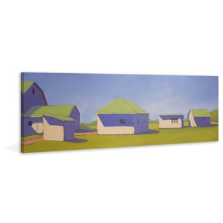 Sunny Outlook' Painting Print on Wrapped Canvas