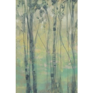 The Light in the Trees I' Painting Print on Wrapped Canvas