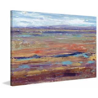 Terra Vista IV' Painting Print on Wrapped Canvas