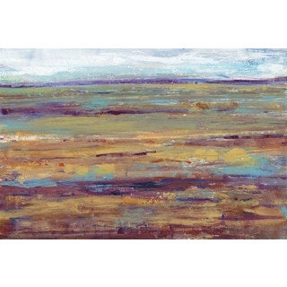 Terra Vista III' Painting Print on Wrapped Canvas