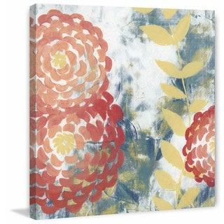 Spring Aria I' Painting Print on Wrapped Canvas