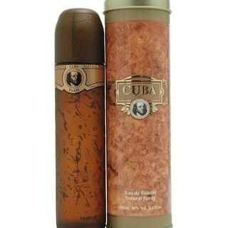 Cuba Gold Men's 3.3-ounce Eau de Toilette Spray
