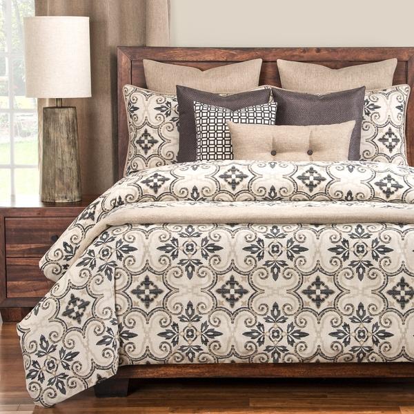 Siscovers Sumatra Black Cotton-blend Luxury Duvet Set