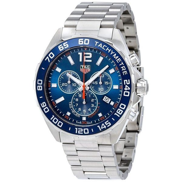 9dc3166cea9 Shop Tag Heuer Men's CAZ1014.BA0842 'Formula One' Chronograph Stainless  Steel Watch - Free Shipping Today - Overstock - 15872745