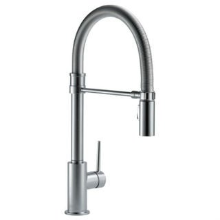 Link to Delta Single Handle Pull-Down Kitchen Faucet with Spring Spout Similar Items in Faucets