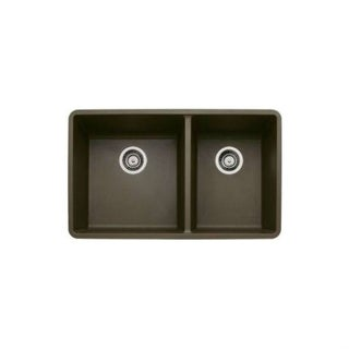 Blanco Precis 441129 Cafe Brown Granite 1-3/4 Bowl Undermount Kitchen Sink
