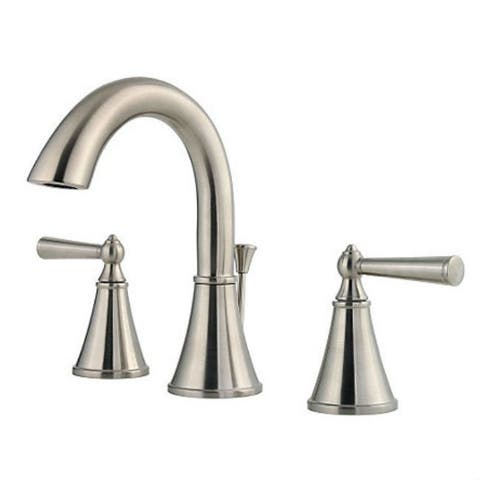 Pfister Saxton Two Handle Widespread Lavatory Faucet Brushed Nickel