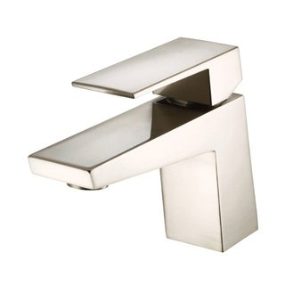 Danze Mid-Town 1H Lavatory Faucet Single Hole Mount w/ Metal Touch Down Drain 1.2gpm Brushed Nickel