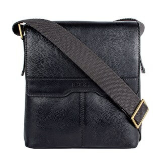 Hidesign Helvellyn Small Leather Crossbody Messenger Bag