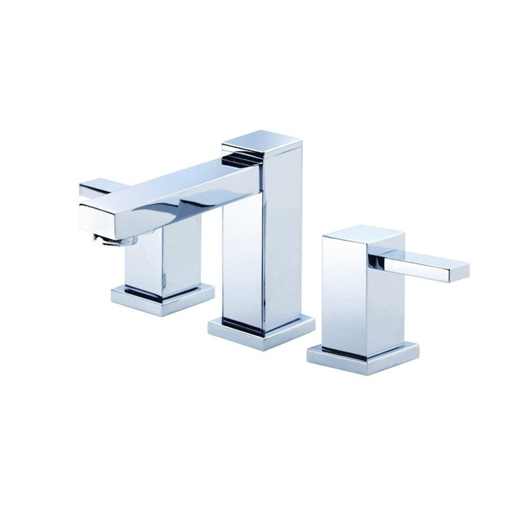 Danze Reef 2H Mini-Widespread Lavatory Faucet w/ 50/50 Touch Down ...
