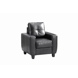 LYKE Home Contemporary Tufted Chair