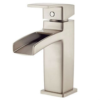 Pfister Kenzo Single Handle Lavatory Faucet Brushed Nickel