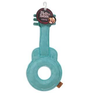 MuttNation Fueled by Miranda Lambert Faux Suede Guitar Dog Toy