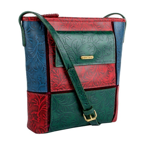 Hidesign Sindhu Leather Crossbody Handbag