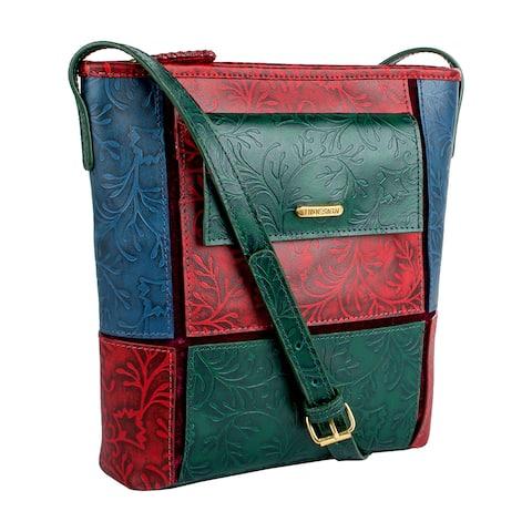 Hidesign Sindhu Leather Crossbody Handbag