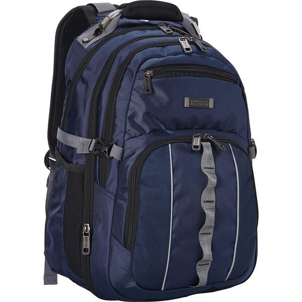 Kenneth Cole Reaction Pack Down Dual Compartment RFID Protected 17.3-inch Laptop Backpack
