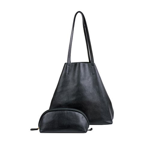 Hidesign Audrey Unlined Leather Handbag
