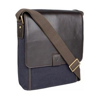 Hidesign Aiden Medium Canvas & Leather Crossbody Messenger Bag