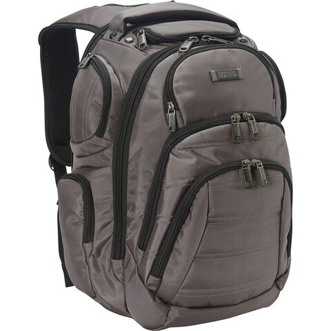 Kenneth Cole Reaction Triple Compartment Multi-Pocket 17-inch Laptop & Tablet Business Backpack