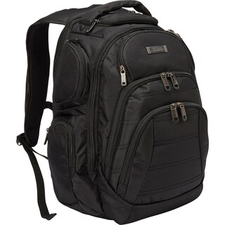 Kenneth Cole Reaction Triple Compartment Multi-Pocket 17-inch Laptop Business Backpack