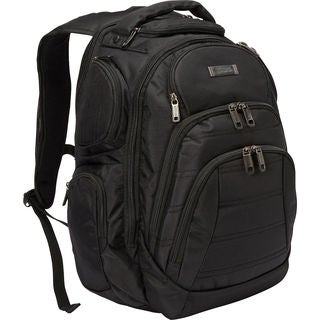 Kenneth Cole Reaction Multi-pocket Dual Compartment 17-inch Laptop Business Backpack
