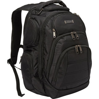 Kenneth Cole Reaction Triple Compartment Multi-Pocket 17-inch Laptop Business Backpack (3 options available)