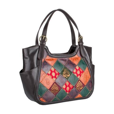 Hidesign Baga Leather Handbag