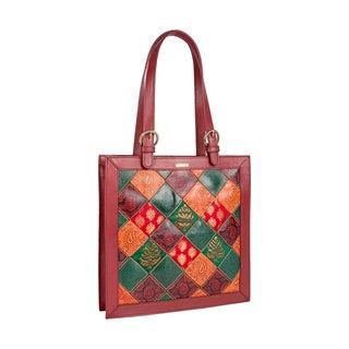 Hidesign Baga Leather Tote Bag