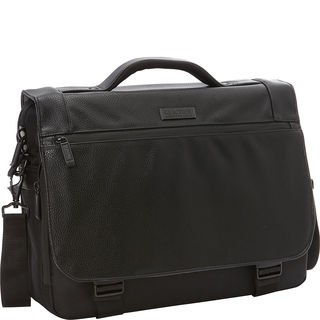 "Kenneth Cole Reaction ""Hit Or Mess"" Flapover RFID 15-inch Laptop Messenger Bag"