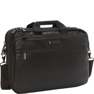 Kenneth Cole Reaction Double Compartment Checkpoint Friendly RFID 17-inch Laptop Bag