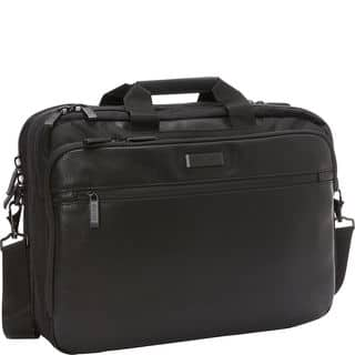 Kenneth Cole Reaction Double Compartment Checkpoint Friendly RFID 17-inch Laptop Bag|https://ak1.ostkcdn.com/images/products/15872979/P22280815.jpg?impolicy=medium