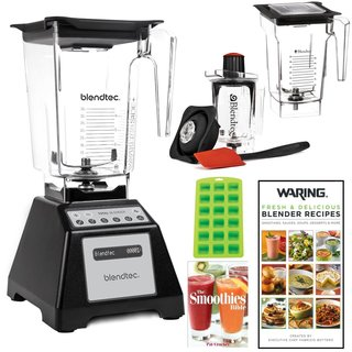 Blendtec Total Blender with WildSide Jar + 2 Blendtec Jars Bundle
