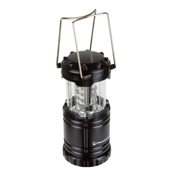 LED Lantern, Collapsible & Portable LED Outdoor Camping Lantern Flashlight by Wakeman Outdoors
