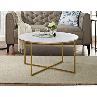 Round Coffee Console Sofa Amp End Tables For Less