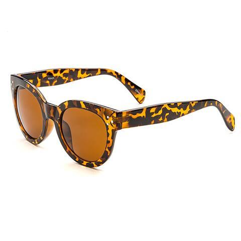 POP Fashionwear P2423 Unisex Designed Classic Vintage Round Fashion Sunglasses