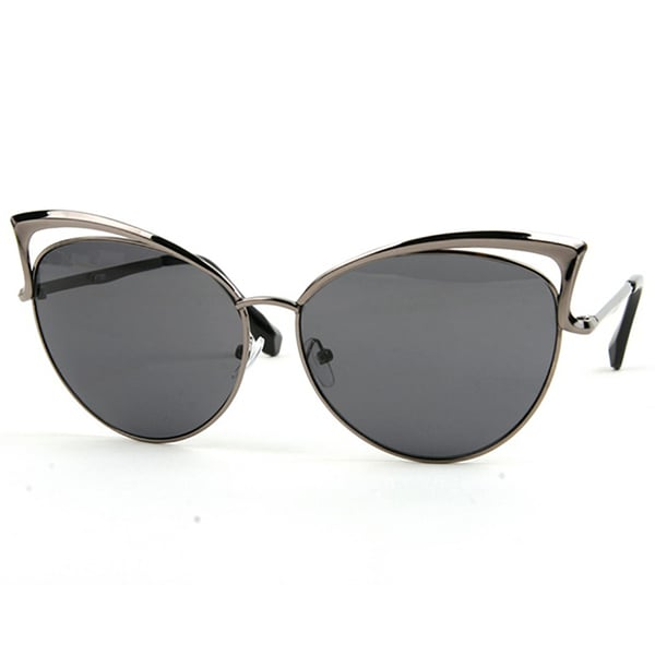 4c81d36706 Shop Pop Fashionwear P2251 Women s Metal Frame Vintage Designer Cat Eye  Sunglasses - Free Shipping On Orders Over  45 - Overstock.com - 15873202